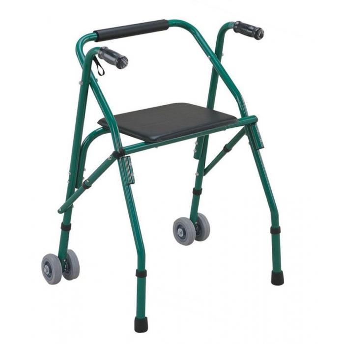 Cadru de mers cu scaun si roti - 914