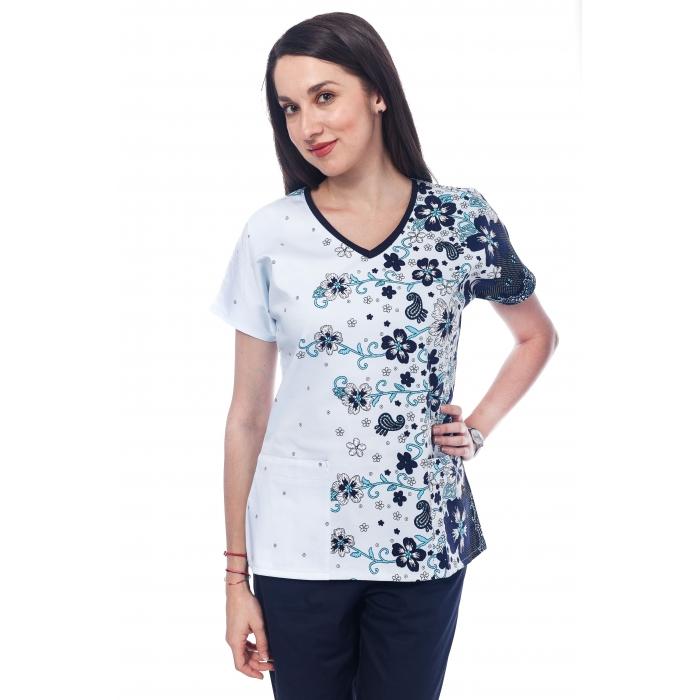 Bluza Imprimata - Floral Allure